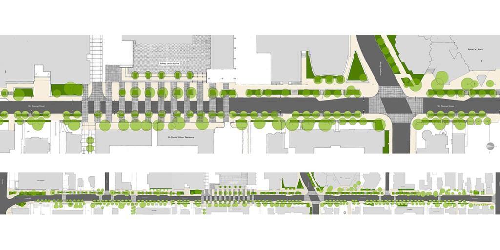 St George Street Revitalization Brown Storey Architects