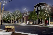 Conceptual Streetscape Design for Richmond Street (2008)